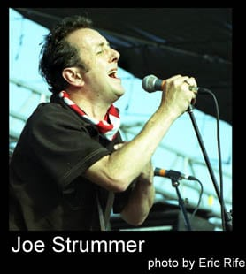 Real Rock Rebel: Joe Strummer: Obituary by Pepus