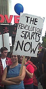 The Los Angeles Anti-War Protest: 2/15/03 by Shahab