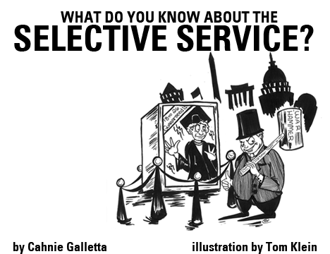 What Do You Know About The Selective Service How The Fuck Can We Abolish This Razorcake